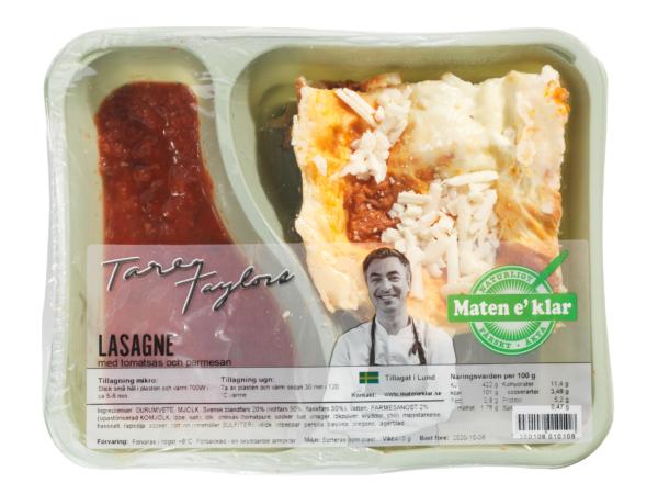 Tareqs Lasagne med tomatsås. En klassiker alla dagar i veckan!